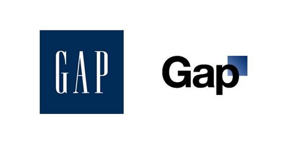 gap logo vanha ja uusi